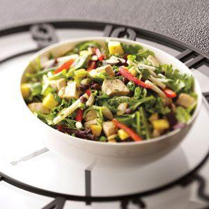 Southwest Mango Chicken Salad Recipe