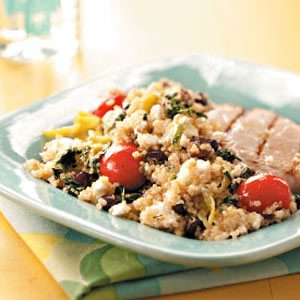 Greek-Inspired Quinoa Salad Recipe