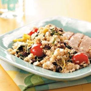 Greek-Inspired Quinoa Salad Recipe