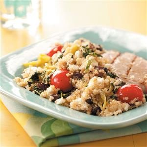 Greek-Inspired Quinoa Salad