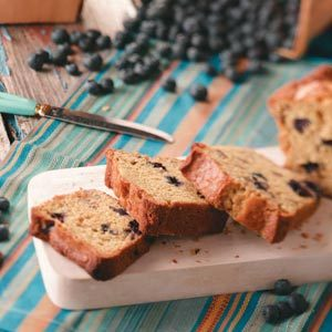 Blueberry-Citrus Mini Loaves Recipe