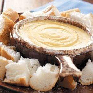 French Onion Cheese Fondue Recipe
