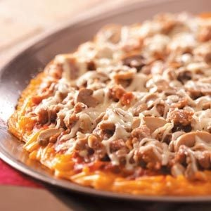 Macaroni & Cheese Pizza Recipe