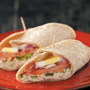 Grandma's French Tuna Salad Wraps
