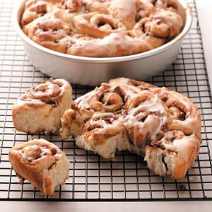 Orange Cinnamon Rolls Recipe