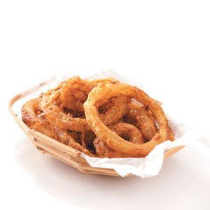 Herb-Crusted Sweet Onion Rings Recipe