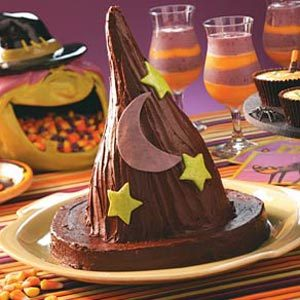 Witch's Crispy Hat Recipe
