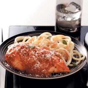 Saucy Parmesan Chicken Recipe