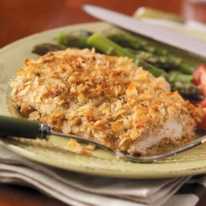 Crispy Onion Baked Chicken