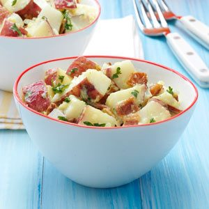 Quick Bacon Potato Salad Recipe