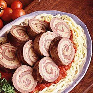 Old World Italian Beef Roll Recipe