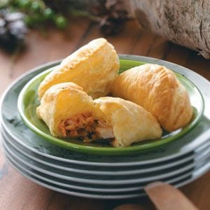 Puffy Lobster Turnovers Recipe