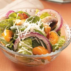 Orange Spinach Salad Recipe