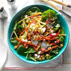 Garden Chickpea Salad Recipe