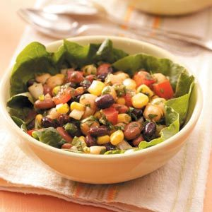 Alfresco Bean Salad Recipe