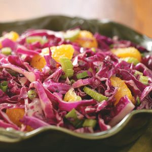 Orange-Poppy Seed Coleslaw Recipe