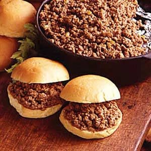 Church Supper Sloppy Joes Recipe