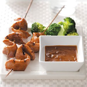 Grilled Pork Tenderloin Satay Recipe