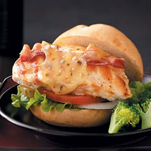 Grilled Pepper Jack Chicken Sandwich