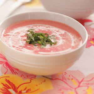 Summer Strawberry Soup