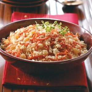 Carrot Raisin Couscous Recipe