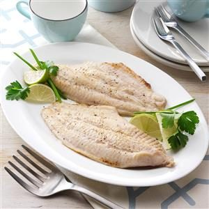 Lime Broiled Catfish Recipe