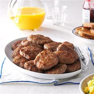 Homemade Breakfast Sausage Patties Recipe