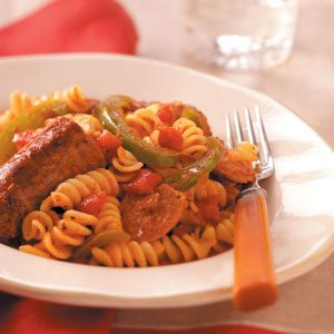Robust Italian Sausage & Pasta Recipe