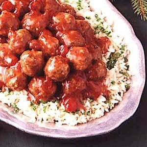 Favorite Cranberry Meatballs