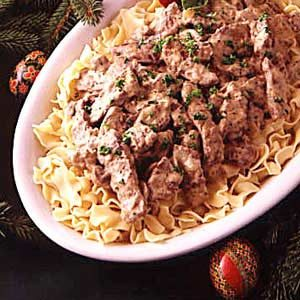 Red River Beef Stroganoff Recipe