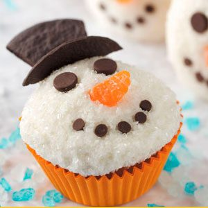 19 Ways to Build a Snowman Treat
