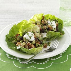 Mexican Lettuce Wraps Recipe