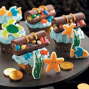 Hidden Treasure Cupcakes Recipe