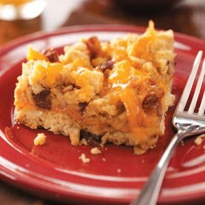 Apple-Cheese Coffee Cake Recipe