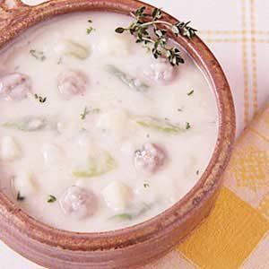 Potato Soup with Sausage Recipe