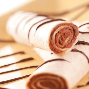 Chocolate Wraps Recipe