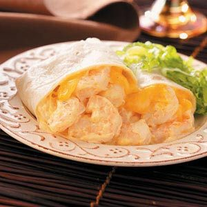 Shrimp Burritos Recipe
