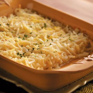 Swiss-Onion Potato Bake Recipe