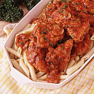 Comforting Chicken Cacciatore Recipe