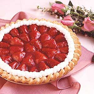 Strawberry Glaze Pie Recipe