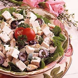 Greek Salad and Chicken Recipe