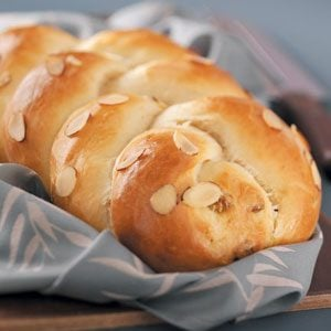 Sweet Braided Loaves Recipe