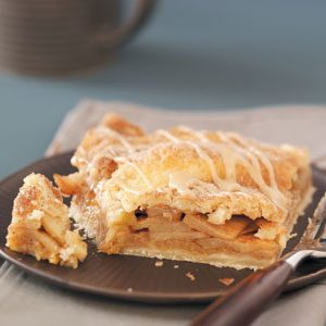 Glazed Apple Pie Squares Recipe
