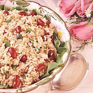 My Favorite Rice Salad