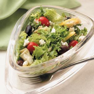 Mediterranean Green Salad Recipe