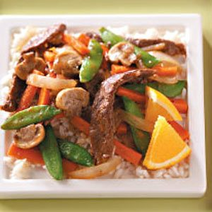 Beef Orange Stir Fry Recipe