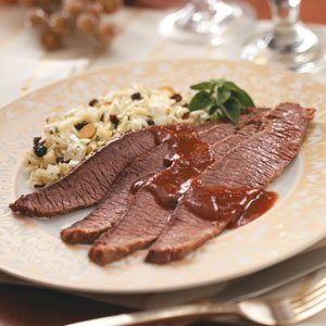 Zippy Barbecued Beef Brisket Recipe
