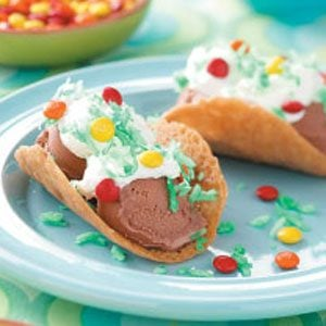 Favorite Ice Cream Tacos Recipe