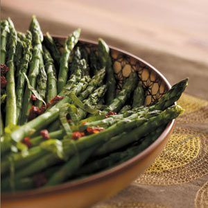 Asparagus and Sun-Dried Tomatoes