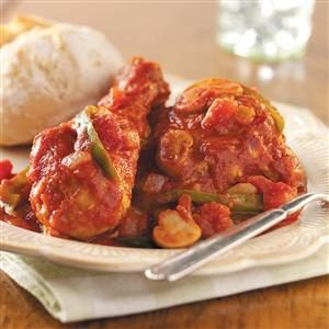 Hearty Chicken Cacciatore Recipe